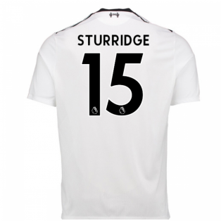 2017-18 Liverpool Away Shirt (Sturridge 15) - Kids