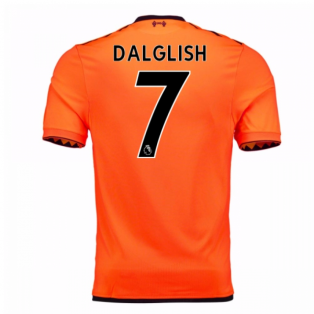 2017-18 Liverpool Third Shirt (Dalglish 7) - Kids