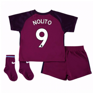 2017-18 Man City Away Baby Kit (Nolito 9)