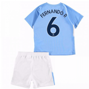 2017-18 Man City Home Baby Kit (Fernando R 6)