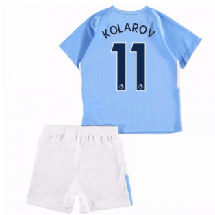 2017-18 Man City Home Baby Kit (Kolarov 11)
