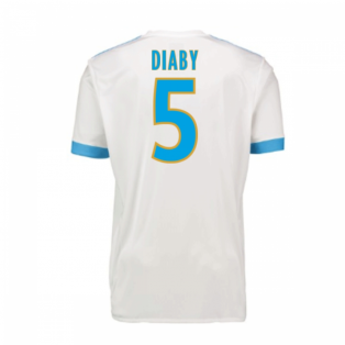 2017-18 Marseille Adidas Home Shirt (Kids) (Diaby 5)