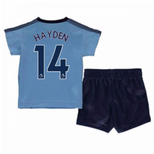 2017-18 Newcastle Away Mini Kit (Hayden 14)