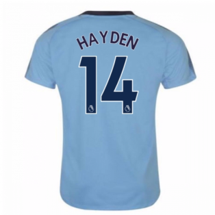 2017-18 Newcastle Away Shirt (Hayden 14) - Kids