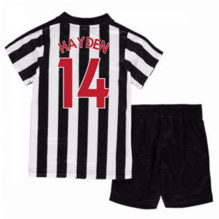 2017-18 Newcastle Home Mini Kit (Hayden 14)