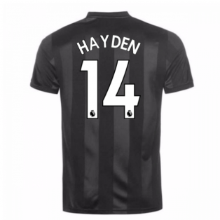 2017-18 Newcastle Third Shirt (Hayden 14) - Kids