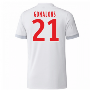 2017-18 Olympique Lyon Adidas Home Shirt (Kids) (Gonalons 21)