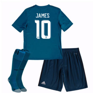 2017-18 Real Madrid Third Mini Kit (James 10)
