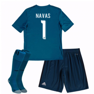0edd6820b77 Out Of Stock 2017-18 Real Madrid Third Mini Kit (Navas 1)