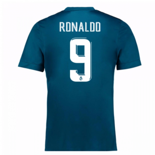 2017-18 Real Madrid Third Shirt (Ronaldo 9) - Kids