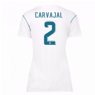2017-18 Real Madrid Womens Home Shirt (Carvajal 2)