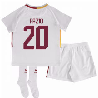 2017-18 Roma Away Mini Kit (Fazio 20)