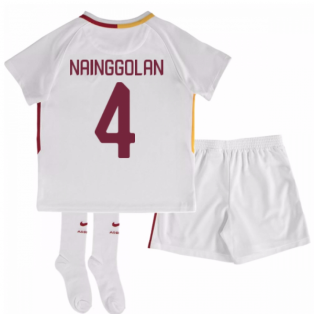 2017-18 Roma Away Mini Kit (Nainggolan 4)