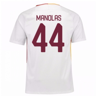 2017-18 Roma Away Shirt (Manolas 44) - Kids