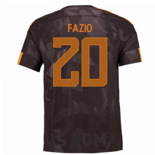 2017-18 Roma Third Shirt (Fazio 20) - Kids