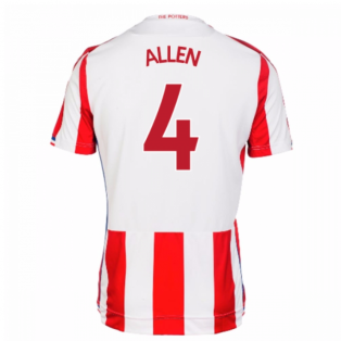 2017-18 Stoke City Home Shirt (Allen 4)