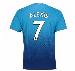 2017-2018 Arsenal Away Shirt (Alexis 7) - Kids