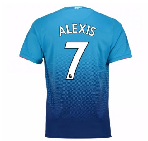 2017-2018 Arsenal Away Shirt (Alexis 7)