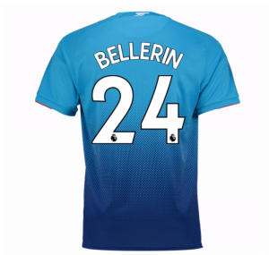 2017-2018 Arsenal Away Shirt (Bellerin 24) - Kids