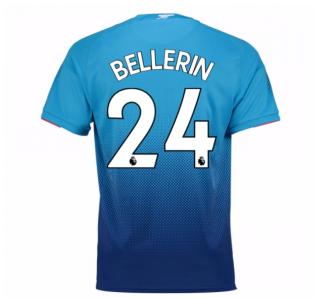 2017-2018 Arsenal Away Shirt (Bellerin 24) - Kids