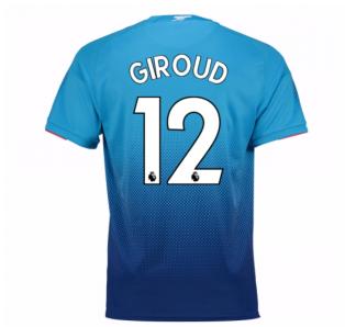 2017-2018 Arsenal Away Shirt (Giroud 12) - Kids