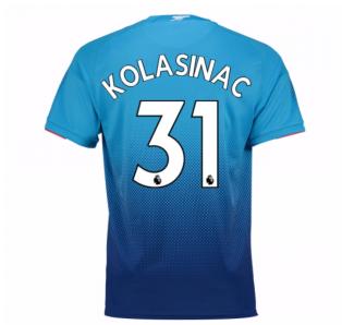 2017-2018 Arsenal Away Shirt (Kolasinac 31) - Kids