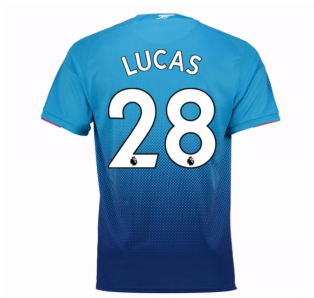 2017-2018 Arsenal Away Shirt (Lucas 28) - Kids