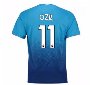 2017-2018 Arsenal Away Shirt (Ozil 11) - Kids