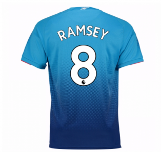 2017-2018 Arsenal Away Shirt (Ramsey 8) - Kids