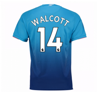 2017-2018 Arsenal Away Shirt (Walcott 14) - Kids