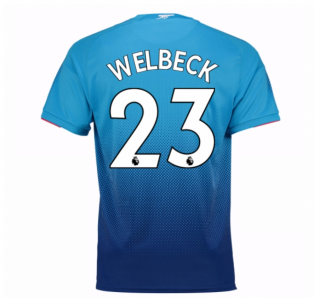 2017-2018 Arsenal Away Shirt (Welbeck 23) - Kids