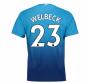 2017-2018 Arsenal Away Shirt (Welbeck 23) - Kids