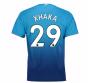 2017-2018 Arsenal Away Shirt (Xhaka 29)