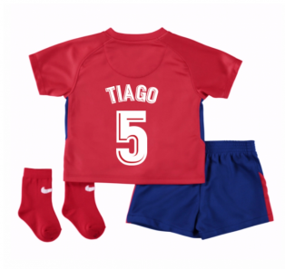 2017-2018 Atletico Madrid Home Baby Kit (Tiago 5)