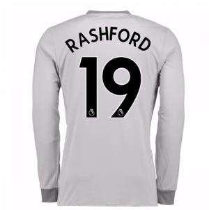 2017-2018 Man United Long Sleeve Third Shirt (Rashford 19) - Kids