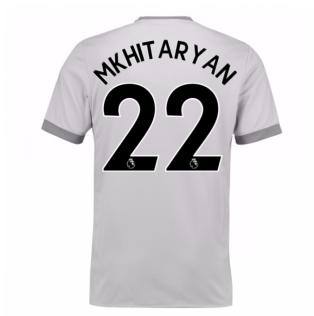 2017-2018 Man United Third Shirt (Mkhitaryan 22) - Kids