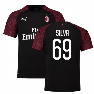 2018-19 Ac Milan Third Shirt (Silva 69) - Kids