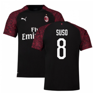 2018-19 Ac Milan Third Shirt (Suso 8) - Kids