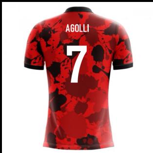 2018-19 Albania Airo Concept Home Shirt (Agolli 7) - Kids