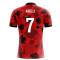 2018-19 Albania Airo Concept Home Shirt (Agolli 7)