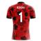2018-19 Albania Airo Concept Home Shirt (Berisha 1)