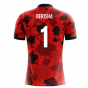 2018-19 Albania Airo Concept Home Shirt (Berisha 1) - Kids