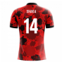 2018-19 Albania Airo Concept Home Shirt (Xhaka 14)