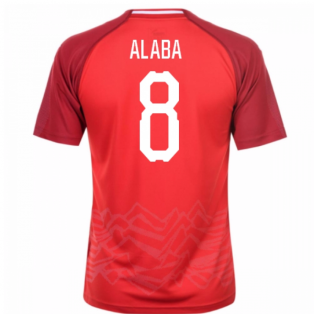 2018-19 Austria Home Shirt (Alaba 8)