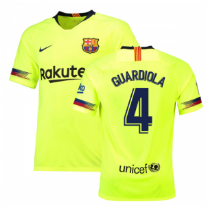 2018-19 Barcelona Away Shirt (Guardiola 4)