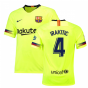 2018-19 Barcelona Away Shirt (I.Rakitic 4) - Kids