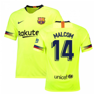 2018-19 Barcelona Away Shirt (Malcom 14) - Kids