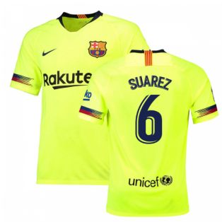 2018-19 Barcelona Away Shirt (Suarez 6)