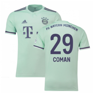 2018-19 Bayern Munich Away Shirt (Coman 29) - Kids