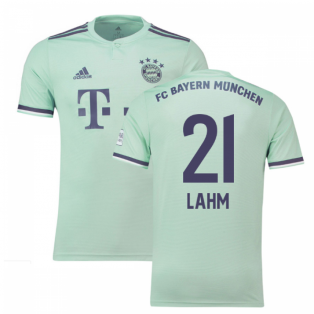 2018-19 Bayern Munich Away Shirt (Lahm 21) - Kids